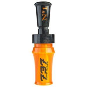 737 Duck Calls No.1 Acrylic Duck Call - Orange/Black/Black