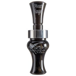 Echo Calls Meat Hanger Acrylic Duck Call - Black/Go