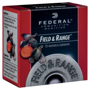 Federal Premium Field &Range Game &Target Load Shotgun Shells - #8 - 1 oz. - 12 ga. - 25 Rounds