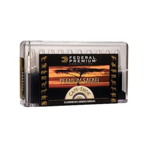 Federal Premium Safari Cape-Shok Centerfire Rifle Ammo - .370 Sako Magnum - 286 Grain - 20 Rounds - Woodleigh Hydro Solid