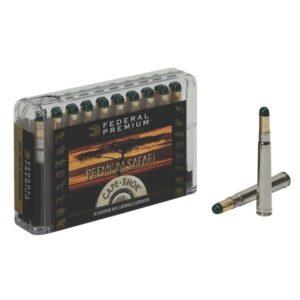 Federal Premium Safari Cape-Shok Centerfire Rifle Ammo - .458 Lott - 500 Grain - 20 Rounds