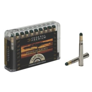 Federal Premium Safari Cape-Shok Centerfire Rifle Ammo - 9.3mmX62 Mauser - 286 Grain - 20 Rounds - Woodleigh Hydro Solid