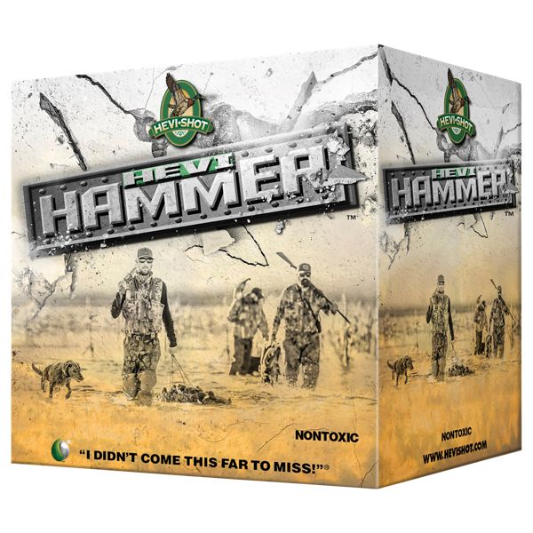 Hevi-Shot Hevi-Hammer Shotgun Shells - 12 Gauge - #2 - 25 Rounds