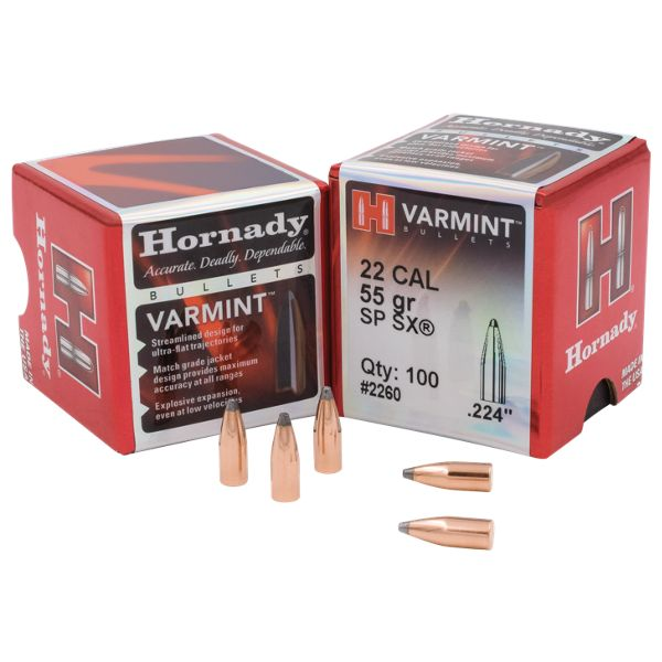 Hornady InterLock Rifle Bullets - .30 Caliber - 180 Grain - SP