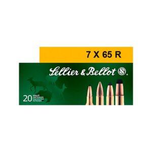 Sellier &Bellot Centerfire Rifle Ammo - 7X65mmR - 173 Grain - 20 Rounds