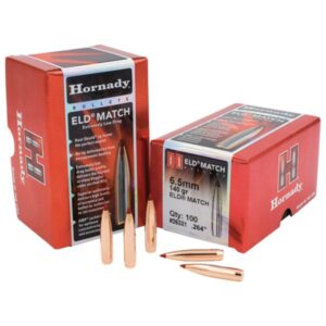 Hornady ELD-Match Rifle Bullets - .30 Caliber - 155 Rounds - 100 Rounds