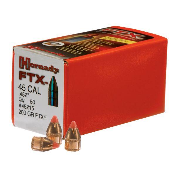 Hornady FTX Bullets - .38 Caliber - 140 Grain - 100 pack