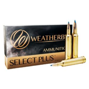 Weatherby Select Plus Nosler Ballistic Tip Centerfire Rifle Ammo - .300 Weatherby Magnum - 165 Grain