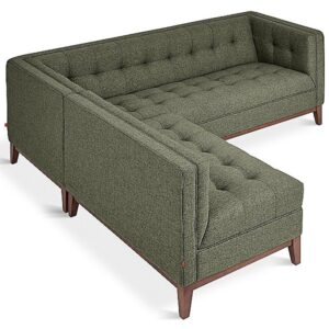 Atwood Bi-Sectional by Gus Modern - Color: Green (ECSFATWO-ECLGATWO-parmos-wn)