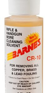 Barnes CR-10 Rifle and Hand Gun Bore Cleaning Solvent - 2 oz.
