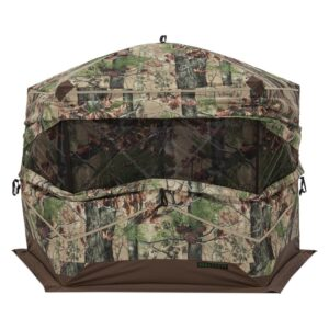 Barronett Blinds OX 5 3 Person Pop-Up Hunting Blind Backwoods in Camo