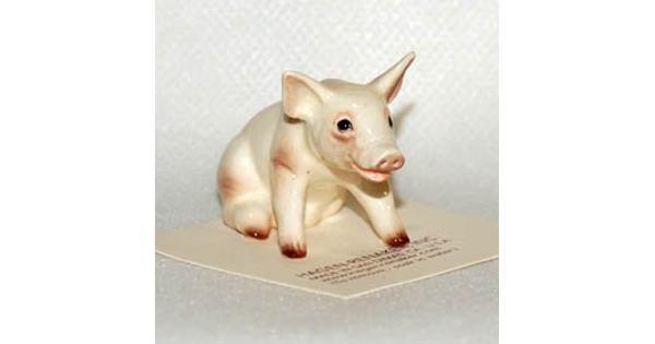 Hagen-Renaker - Baby Pig Sitting