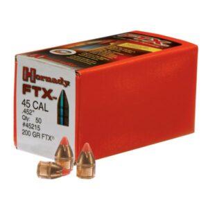 Hornady FTX Bullets - .45 Caliber - 225 Grain - 100 pack
