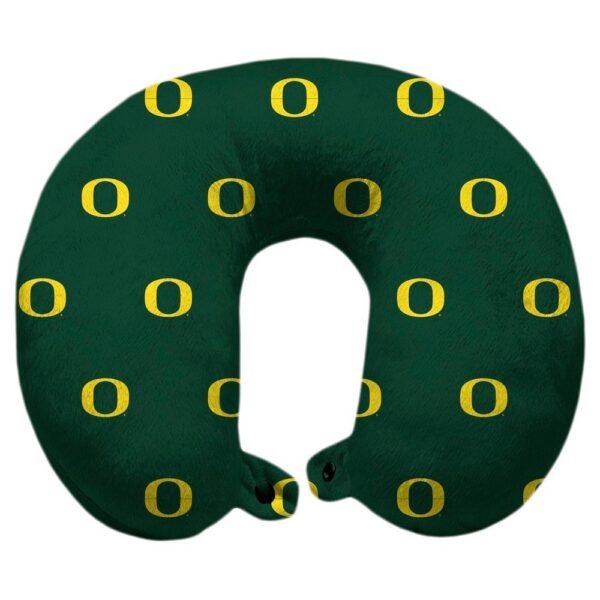 NCAA Oregon Ducks Polyester Travel Pillow