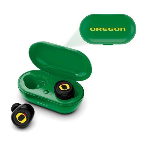 NCAA Oregon Ducks True Wireless Earbuds