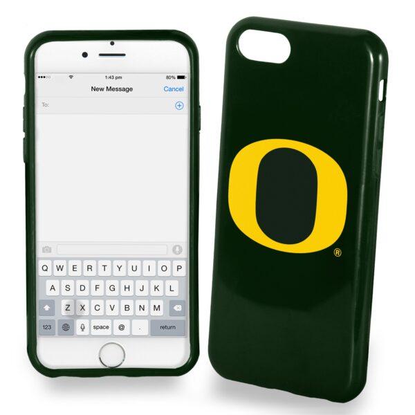 Oregon Ducks Solid iPhone 7 Case