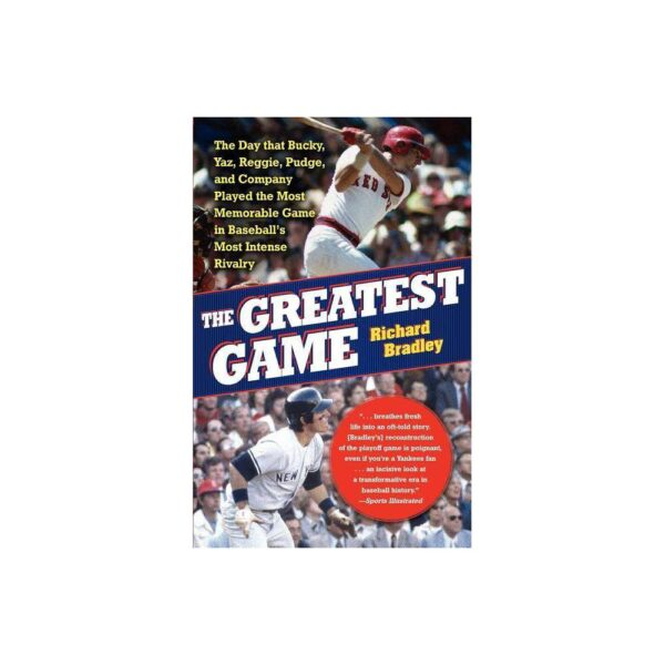 The Greatest Game - by Richard Bradley (Paperback)
