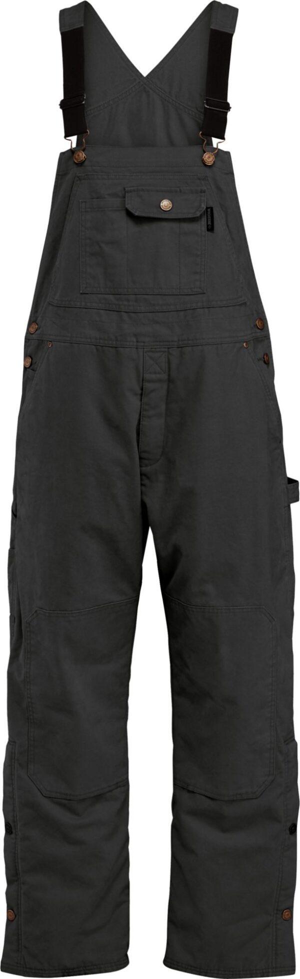 Wolverine Men's Sawmill Insulated Bib, XL, Black