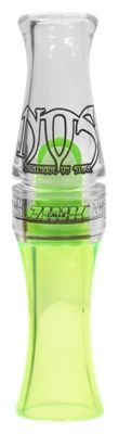 Zink Calls NOS Nightmare on Stage Polycarbonate Goose Call - Lemon Drop