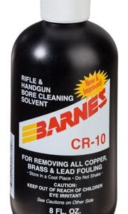 Barnes CR-10 Rifle and Hand Gun Bore Cleaning Solvent - 8 oz.