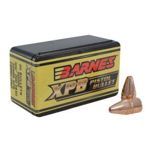 """Barnes Xpb 500 S&W (0.500"""") Pistol Bullets - 500 S&W (0.500"""") 325gr Flat Base 20/Box"""